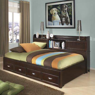 Jami Storage Mate's & Captain's Bed Bed Frame Color: White, Size: Full