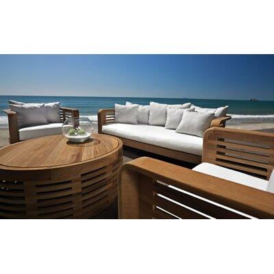 OASIQ Hamilton 4 Piece Deep Seating Group with Cushions
