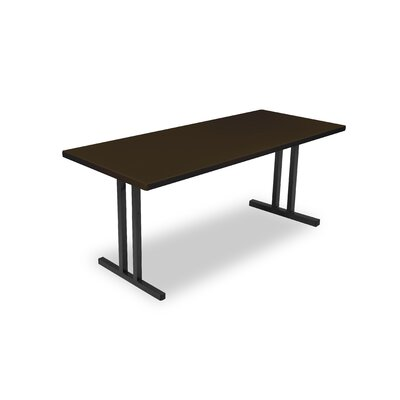 "Alulite Training Table Finish: Walnut, Size: 29.75"" H x 72"" W x 30"" D"