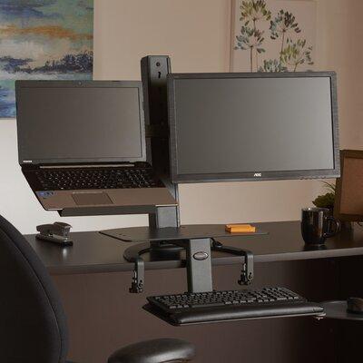 """TaskMate Go 42"""" H x 42"""" W Standing Desk Conversion Unit"""