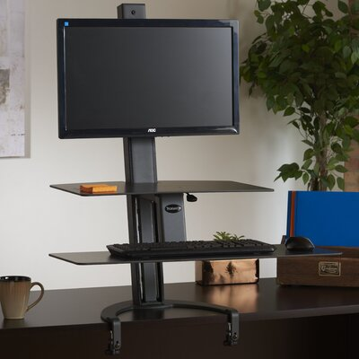 """TaskMate Go 42"""" H x 30"""" W Standing Desk Conversion Unit"""