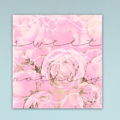 Fairmont Park Sweet Nothing Graphic Art Wrapped on Canvas
