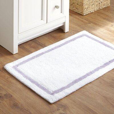 Essentials Bath Mat Color: Lilac