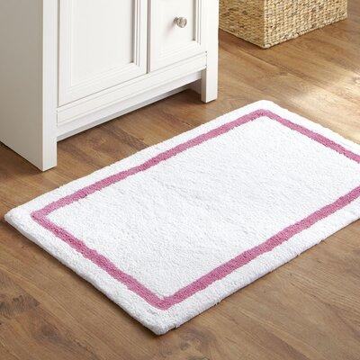 Essentials Bath Mat Color: Pink