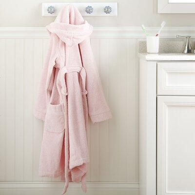 Pink Monogrammed Snuggly Bathrobe