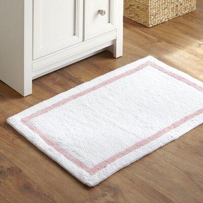 Essentials Bath Mat Color: Light pink