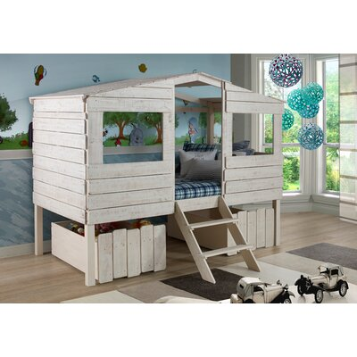 Cabin Lofted Bed