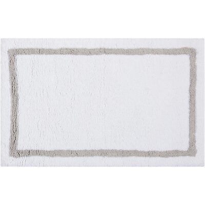 Essentials Bath Mat Color: Silver