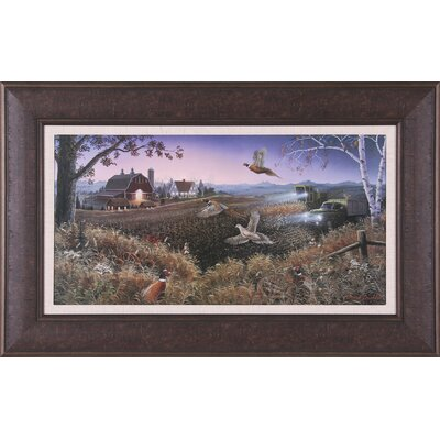 Art Effects Evening Harvest by Mark Daehlin Framed Painting Print