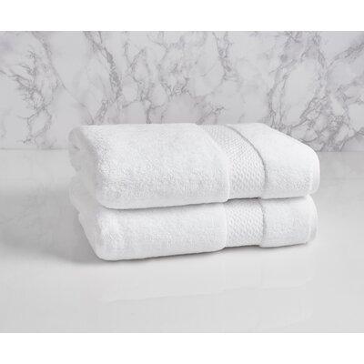 Dynasty 100% Cotton Bath Towel Color: Frost