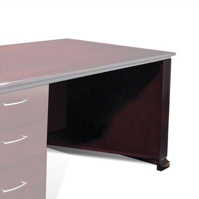 """Mendocino 28"""" H x 35.5"""" Desk Privacy Panel Finish: Satin Cherry"""