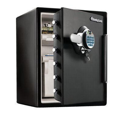 Fingerprint Water-Resistant Dual-Lock with Security Safe