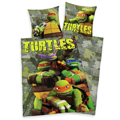 Herding Heimtextil Bettwäsche-Set Teenage Mutant Ninja Turtles