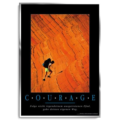 Positive Impulse Courage Poster