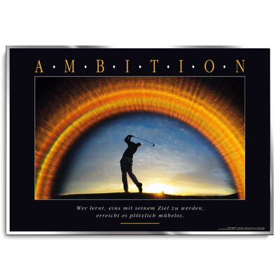 Positive Impulse Ambition Poster