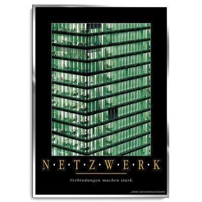 Positive Impulse Netzwerk Poster