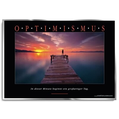 Positive Impulse Optimismus Poster