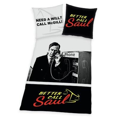 Herding Heimtextil Bettwäsche-Set Better Call Saul aus Polyester