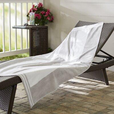 Wayfair Basics 100% Cotton Beach Towel Color: Light Gray