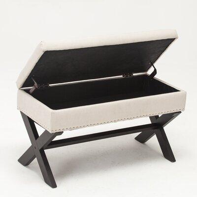 Storage Bench Color: Beige