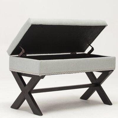 Storage Bench Color: Light Gray