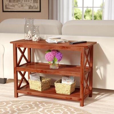 Elisabeth Console Table Color: Medium Brown