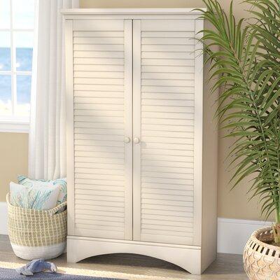 Pinellas 2 Door Accent Cabinet Color: Antique White