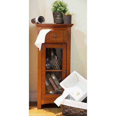 Wooden Floor 1 Drawer Storage Cabinet