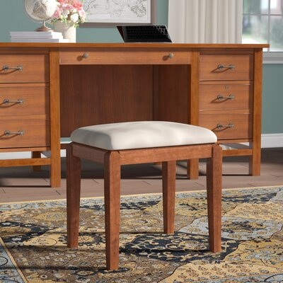 Andalusia Vanity Stool Finish: Espresso