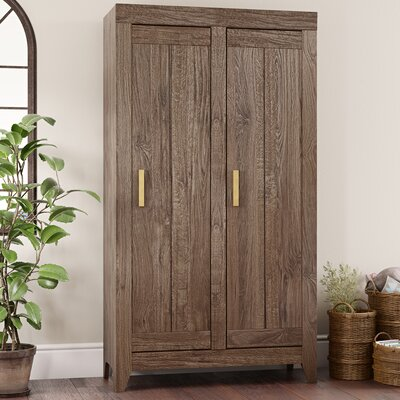 Orville 2 Door Accent Cabinet Color: Fossil Oak