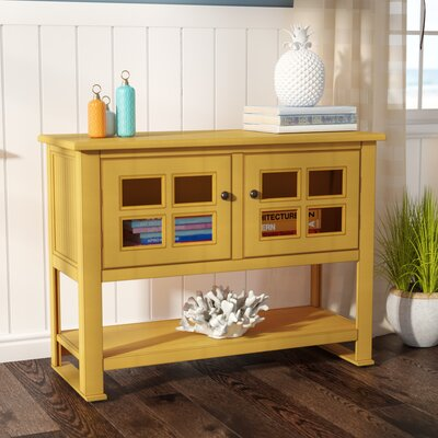 Aisley Console Table Color: Autumn Gold