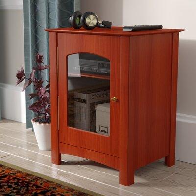 Entertainment Audio Cabinet Color: Paprika