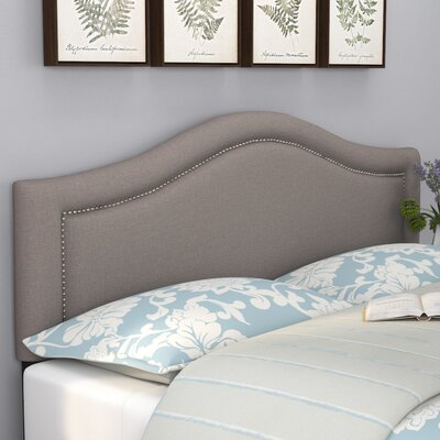 Ophiuchi Upholstered Panel Headboard Size: Queen, Upholstery: Gray