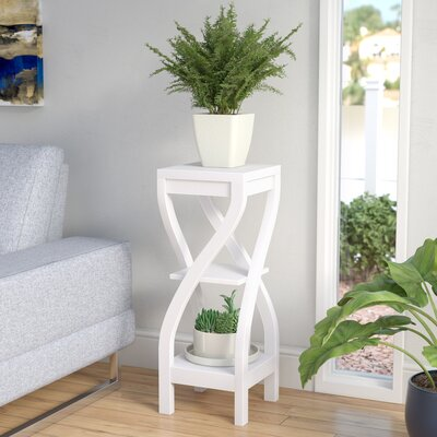 Orionis Etagere Plant Stand Color: White