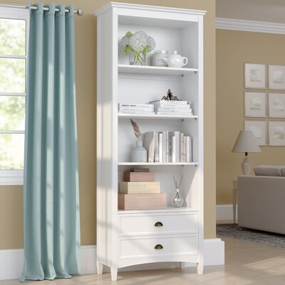 Pineview Standard Bookcase Finish: White