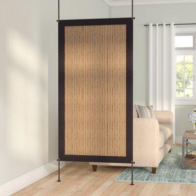 Noelle Room Divider Color: Driftwood/Khaki