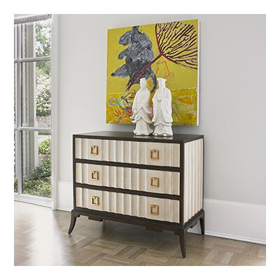 Exclusive 3 Drawer Accent Chest