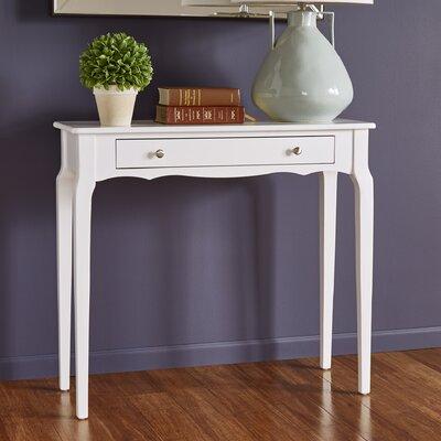 Fabius Console Table Color: White