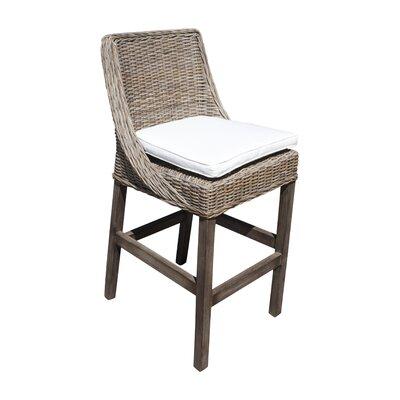 "Exuma 30.75"" Bar Stool with Cushion"
