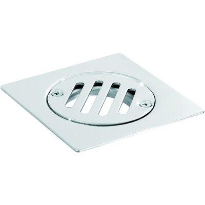 Steel Floor Fixed Cover Grid Shower Drain