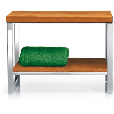 Simmerman Wood Storage Bench Color: Light Beech