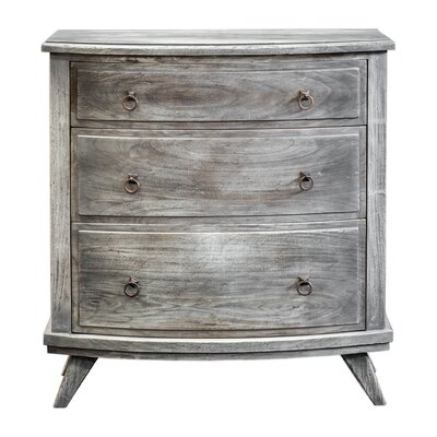 Seraphine Driftwood 3 Drawer Accent Chest