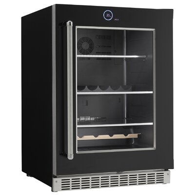 Bottle Cans Built-in All Fridge 23.88-inch 5 cu. ft. Undercounter Beverage Center Hinge Location: Right