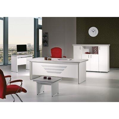"Truett Modern 5 Piece Desk Office Suite Size: 29.53"" H x 63"" W x 33.46"" D"