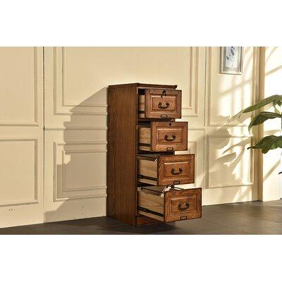 Sarthak 4 Drawer Vertical Filing Cabinet