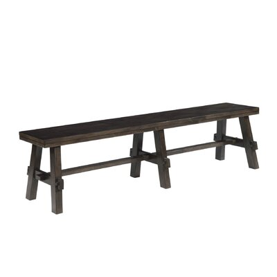 Burkettsville Wood Bench