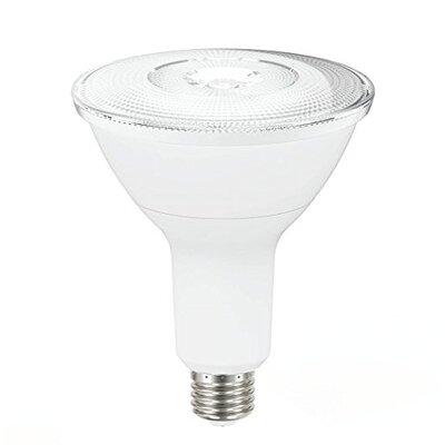 14W Frosted PAR38 E26 Light Bulb (Set of 6) Beam Angle: 40 Degree Flood
