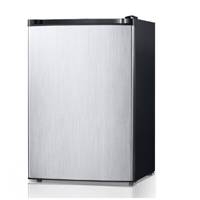 4.4 cu. ft. Compact Refrigerator Color: Stainless Steel