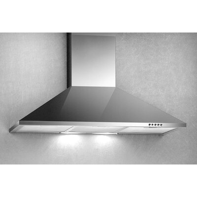 "30"" 500 CFM Convertible Wall Mount Range Hood"