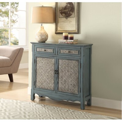 Fales 2 Drawer Accent Cabinet